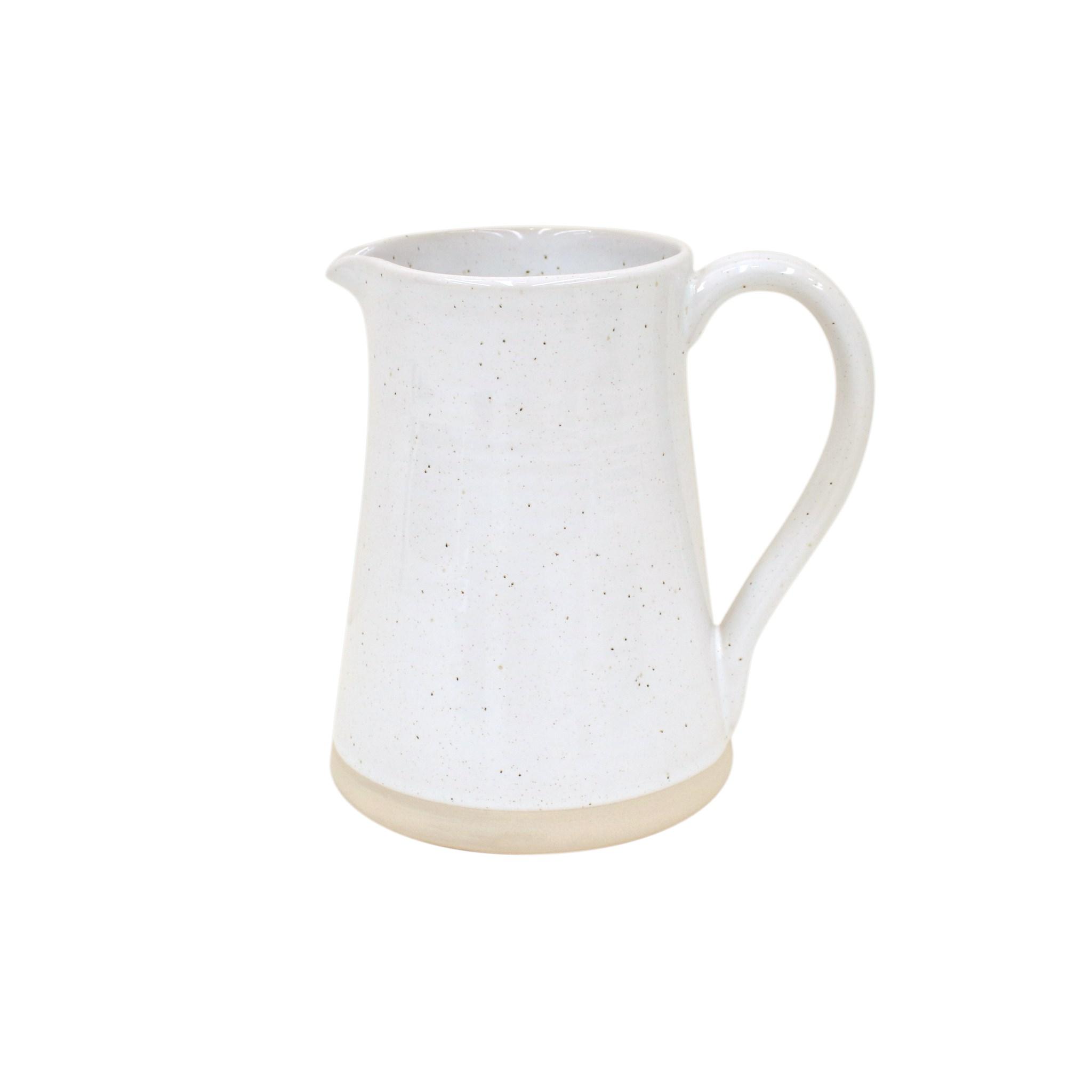 Florence stoneware pitcher